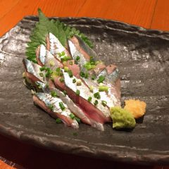 美味!秋刀魚のお刺身