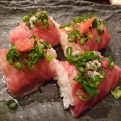 知る人ぞ知る!牛巻き寿司